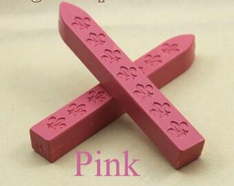 2pcs Pink Sealing Wax Sticks for Wax Seal Stamp