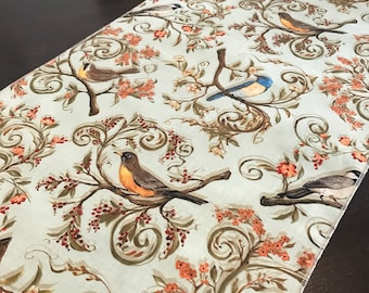 Spring Table Runner | Fall Table Runner | Farmhouse Table Runner | Blue Table Runner | Bird Table Runner | Spring Table Topper