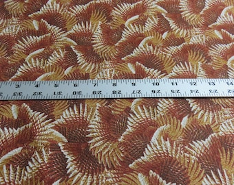 Hautman Bro. Wild Pheasants - Quilting Treasures - brown - cotton fabric - sold by the yard