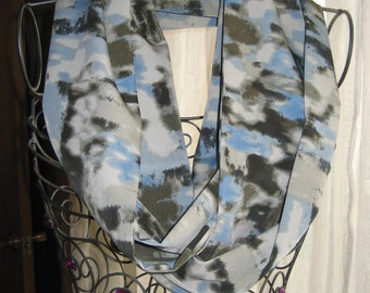 Abstract Watermark Infinity Scarf