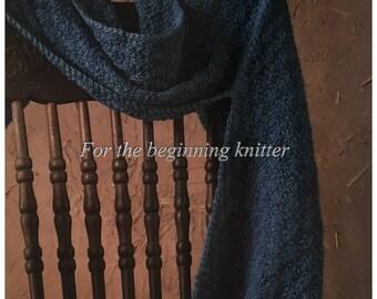 PDF Knit Hooded Scarf