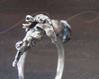 Horse sign Asrologie Chinese ring