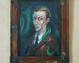 Lovecraftian portrait