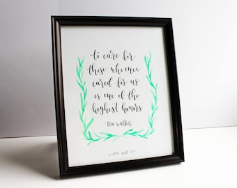 Custom Hand Lettered Piece