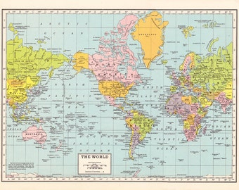 World Map Fleece Blanket throw - cozy, sofa, couch, bed, travel decor, minimal, soft, pastel, winter, warm, wanderlust