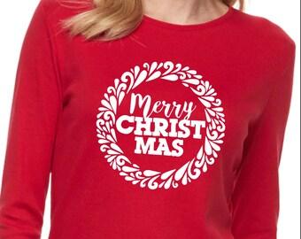 Merry Christ Mas design SVG file