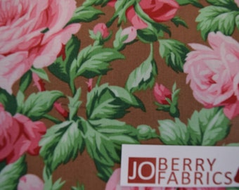 Rose Garden by Verna Mosquera for Free Spirit with Westminster.  Quilt or Craft Fabric.  Fabric by the Yard.
