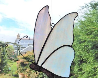 Stained glass butterfly
