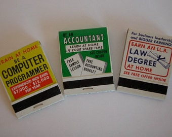 Matchbook Mini Books - Set of 3 - Be a Computer Programmer, Accountant, and Lawyer