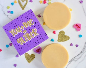 Shimmer Lotion Bar - Shimmer - Organic Lotion Bar - Bath & Beauty - Valentine's Gift - Natural Skin Care - Lotion Bar