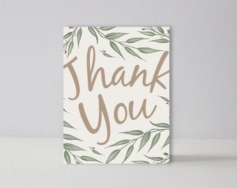 Thank You  | A2 Notecard