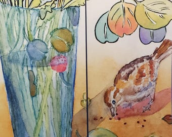 Eucalyptus Friend or Foe Bookmark, by Michelle Kogan, Books, Watercolor, Painting, Art & Collectibles, Drawing  Illustration, Children's Art