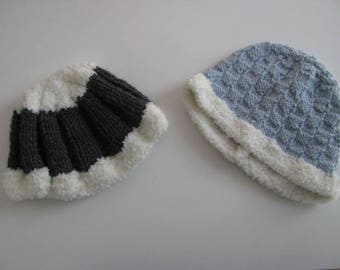 Set of 2 hats to choose size 3 months