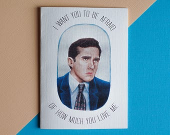 The Office Michael Scott Card