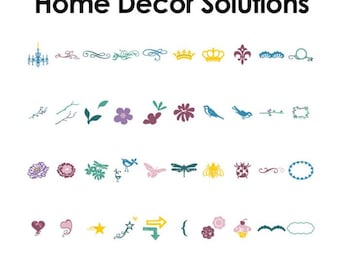 Cricut - Solutions Cartridge - Home Decor