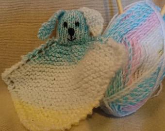 Pastel bunny comforter