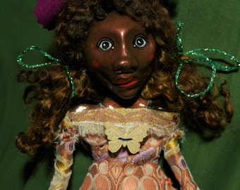 art doll, african american, folklore
