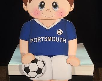 Shelf Sitter Portsmouth Footballer