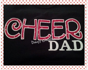 Dad cheer sweatshirt - Cheer Dad Hooded Sweatshirt - Dad Hoodie - Cheerleader Dad hoodie - dad gift - fathers day gift - gift for dad