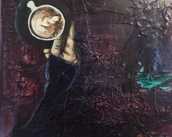 Coffe Art - Mixed Media