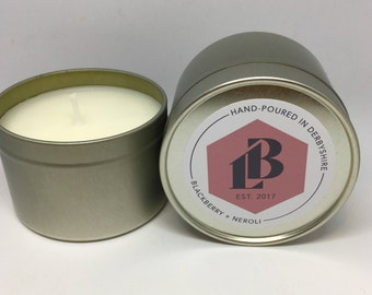Blackberry & Neroli Soy Wax Candle