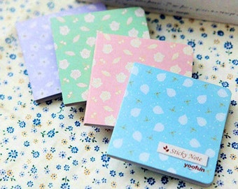 Beautiful Natural Story Sticky Notes and Flags