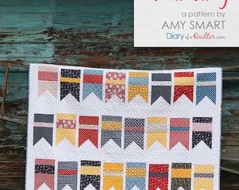 Summer Bunting Quilt Pattern - PDF