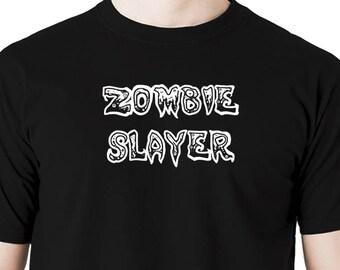 Zombie slayer t shirt