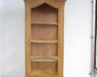 Single French Armoire with Glass