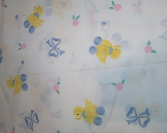 Yellow Duck Fabric