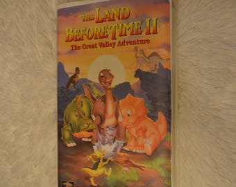 The Land Before Time 2 VHS