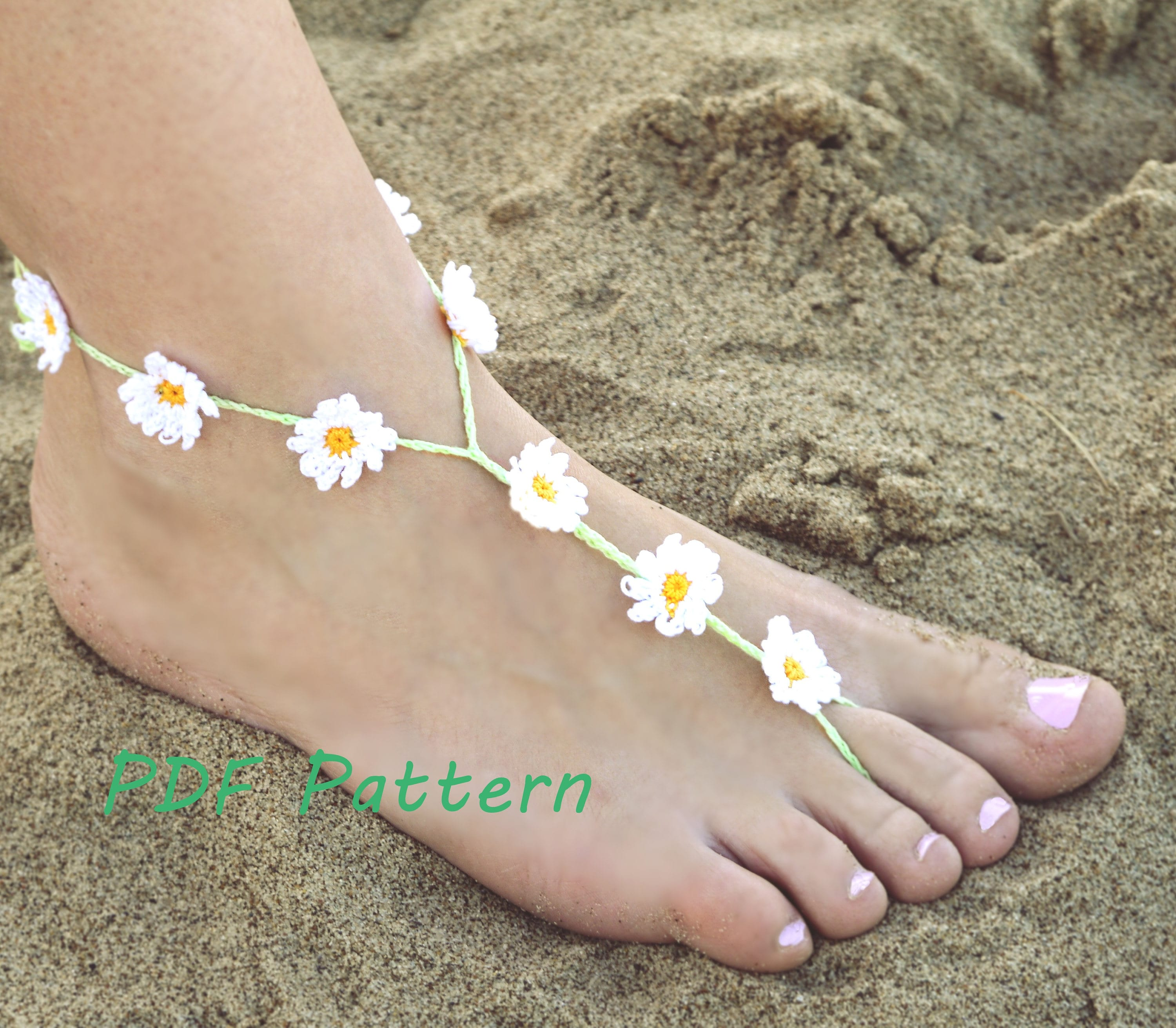 camellia handmade anklet products jewelry wedding barefoot sandals foot
