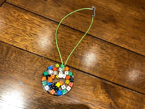 Charlies Dice Necklace