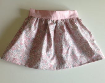 Organic cotton girl skirt
