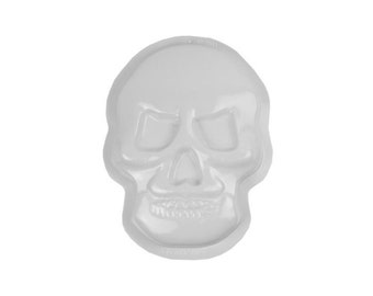 Skull Cake Plastic Pan - Jello Mold - Halloween Day of the Dead - Cake Baking Party Supplies
