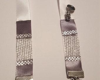 White Sparkle Bookmark