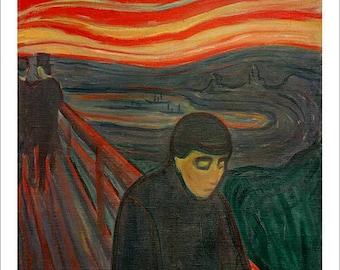 Munch - Despair beautiful fine art print in choice of sizes
