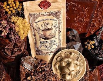 Sunrise Ritual Tea~ Organic ~ Just like Coffee ~ Dark, Rich and Warm~ Nutrient Rich ~ Coffee Replacement~ 2oz bag ~ 16 cups~
