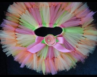 Luau Tutu Skirt   Baby Girls Birthday Tutu   Pineapple Princess Dress   Baby Girls 1st Birthday