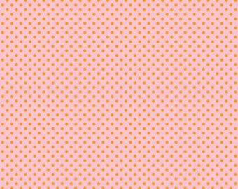 Remnant 3/4 Yard Only - Riley Blake Designs Happier by Denna Rutter. 100% cotton pattern C5505 Pink - Happier - Dots