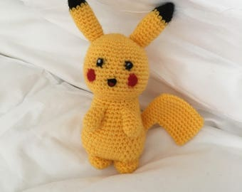 Made to order Crochet Pikachu