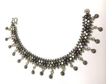 Sterling Silver Oxidised Bracelet