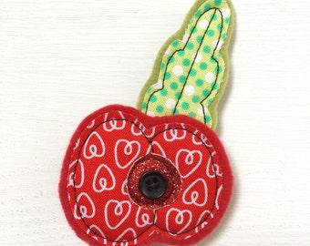 Handmade Poppy Brooch - Poppy Brooch - Poppy Pin - Brooch - Brooch Gift - Poppy Brooch Gift - Poppy Pin Gift - Flower Brooch - Poppy Appeal