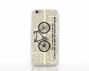 Einstein bicycle quote iPhone X case - iPhone 8/8 Plus case -iPhone 7/7 Plus case -iPhone 6/6 Plus case-iPhone 5/5S case-Galaxy case-NP3D021