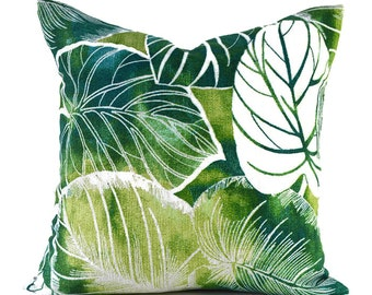 Outdoor Pillows Outdoor Pillow Covers Decorative Pillows ANY SIZE Pillow Cover Green Pillow Designer Pillow Richloom Outdoor Keycove Lagoon