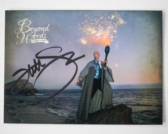 IMPERFECT Signed Tad Williams *5x7* photo print from the 2014 Beyond Words fantasy author calendar