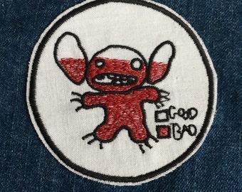 Stitch Iron On Patch