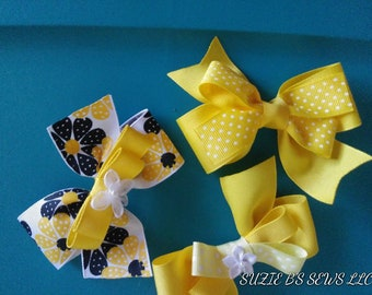 Bows for girls. Hair bows/clips for girls.Barrettes for girls.