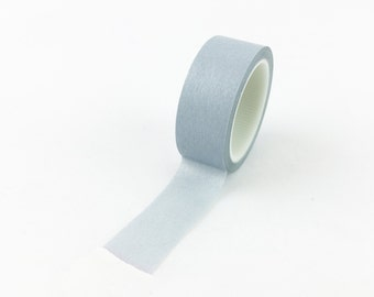 Solid Warm Grey Washi Tape // 15mm // Paper Tape // BBB Crafting Supplies // CR-W-L074