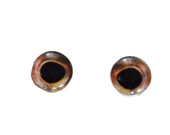 SALE Small Glass Eyes - 8mm - Glass Eyes - Fish